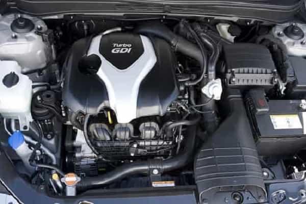 Двигатель Hyundai Sonata 2017 года