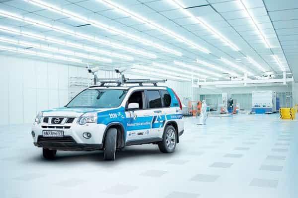 Инженеры обучают российски беспилотный автомобиль