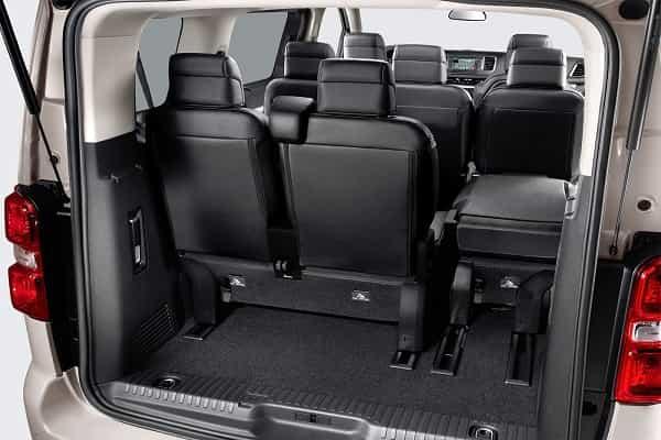 Багажник Citroen SpaceTourer 2016 года