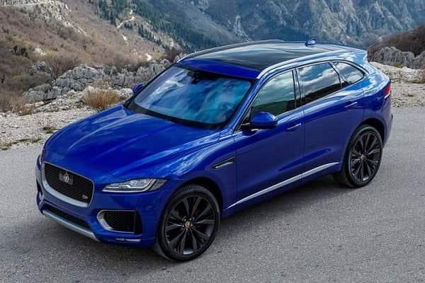 Jaguar F-Pace 2017 года