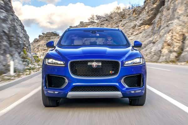 Jaguar F-Pace с дизельным двигателем