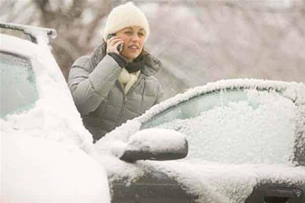 Запуск автомобиля в мороз