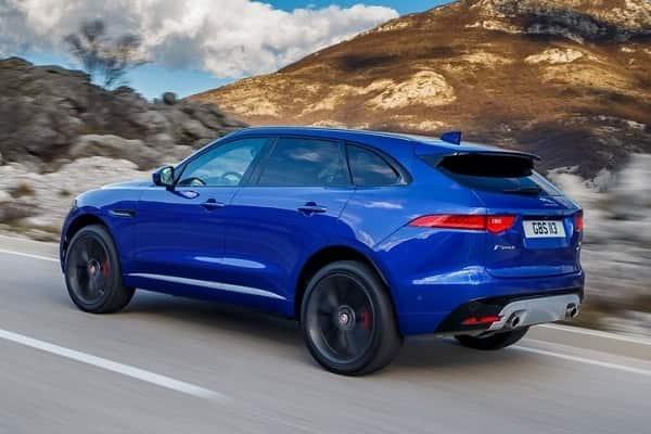 Обновленный Jaguar F-Pace 2017 года