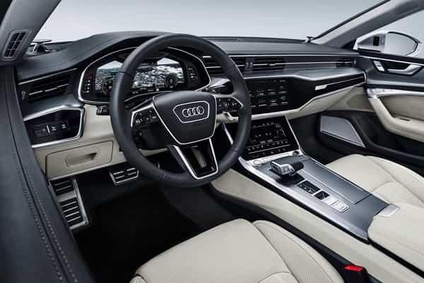Салон Audi A5 Sportback 2 поколения