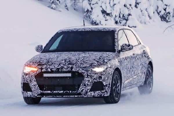 Audi A1 2019 года