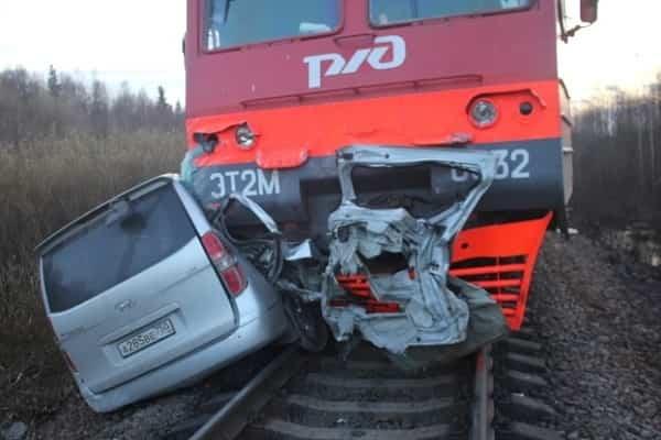 ДТП на железнодорожных переездах
