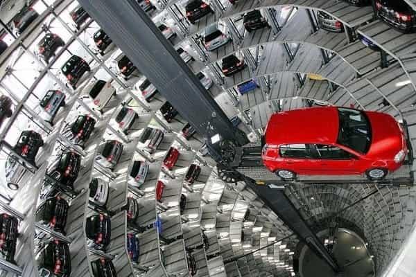 Многоуровневая подземная парковка