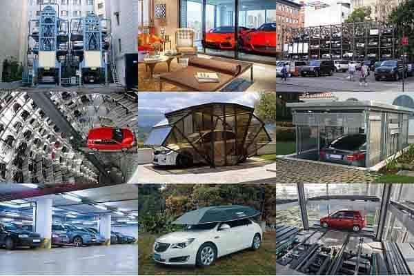 Уникальные решения автомобильных парковок