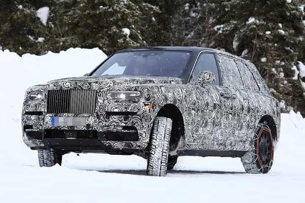 Rolls-Royce Cullinan 2019 года