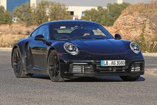 Porsche 911 Turbo 2019 года