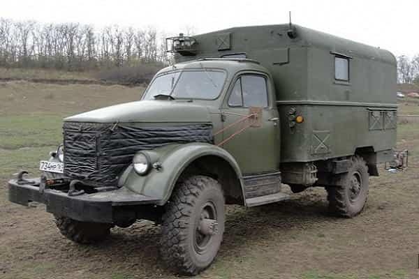 ГАЗ-63 КУНГ