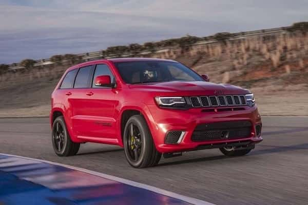 Jeep Grand Cherokee 2017 года