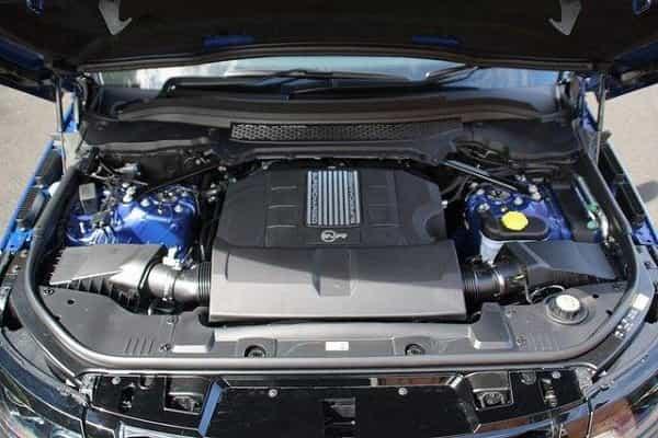 Двигатель Range Rover Sport SVR 2018