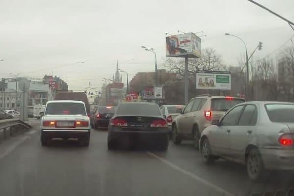 Хамство на дорогах