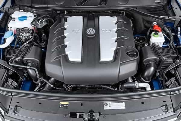 Двигатель Volkswagen Touareg 2018 года