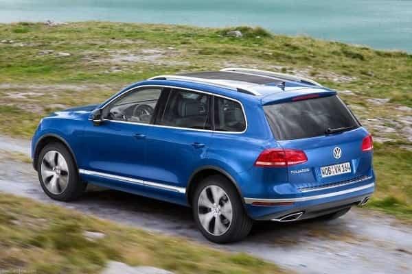 Кроссовер Volkswagen Touareg 2018