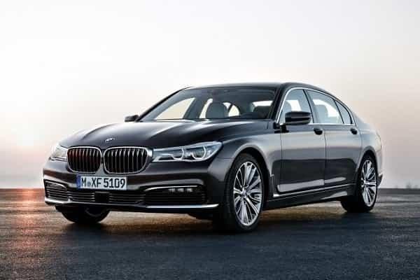 BMW 7 Series 2015 года