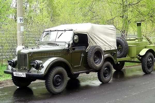 ГАЗ-69А - легендарный советский джип!