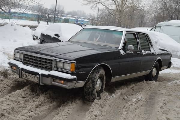 Chevrolet Caprice 1984 года