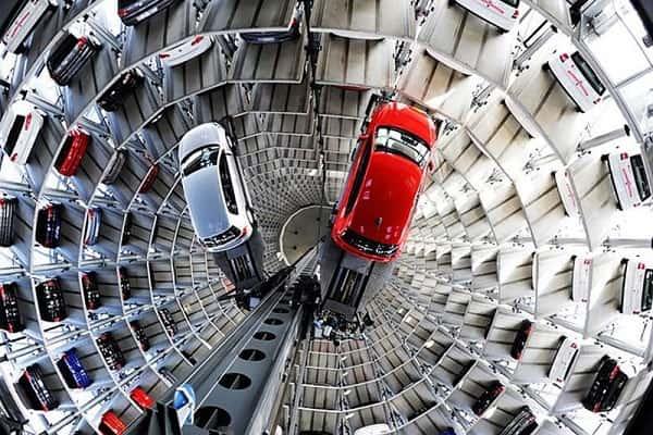 Многоуровневая парковка