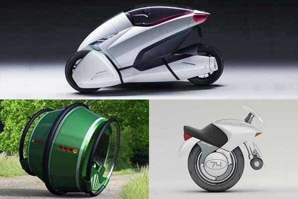 Необычные машины будущего