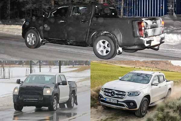 Isuzu D-MAX, Toyota Tundra, Mercedes-Benz X-Class
