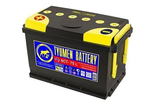 Tyumen Battery Standard 6СТ-75 L (75 А•ч)