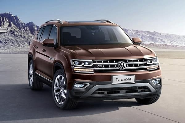Volkswagen Teramont 2018-2019 года