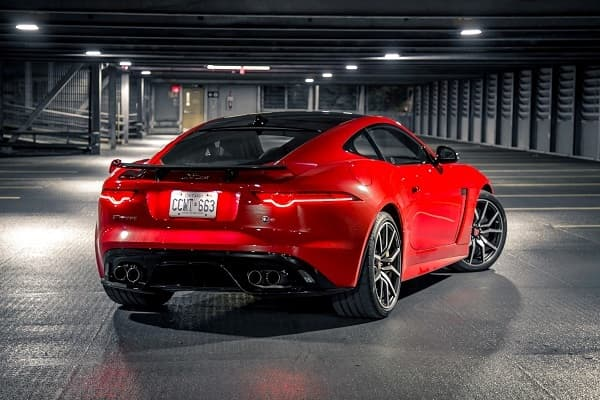 Jaguar F-Type SVR 2019