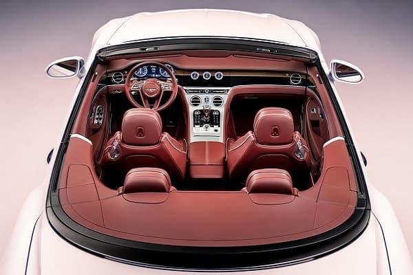 Салон Bentley Continental GT Convertible
