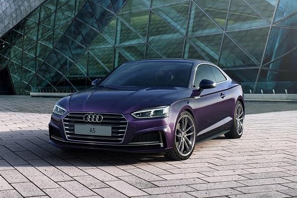 Audi A5 второго поколения Exclusive Edition