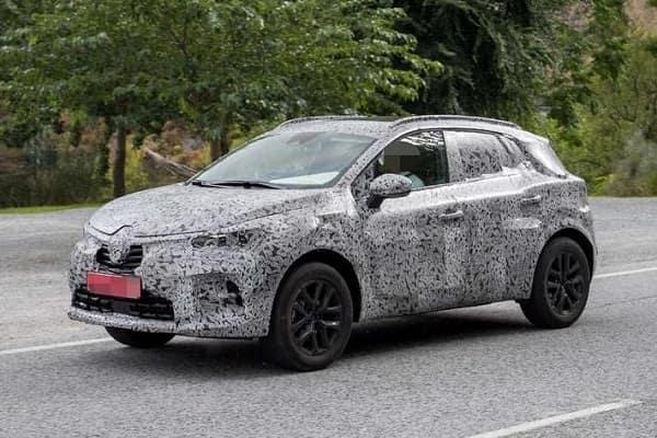 Renault Captur 2020 года