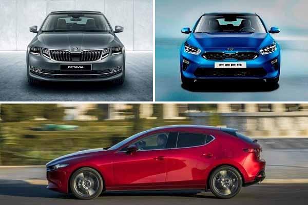 Хэтчбеки за 1500000 рублей: Skoda Octavia, Kia Ceed, Mazda 3
