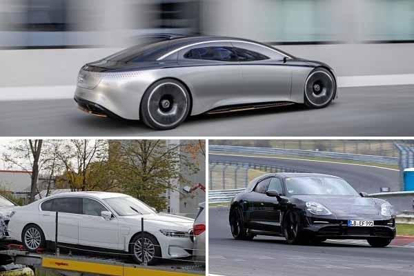 Электрические автомобили 2020 года: Mercedes-Benz EQS, BMW i7, Porsche Taycan Cross Turismo