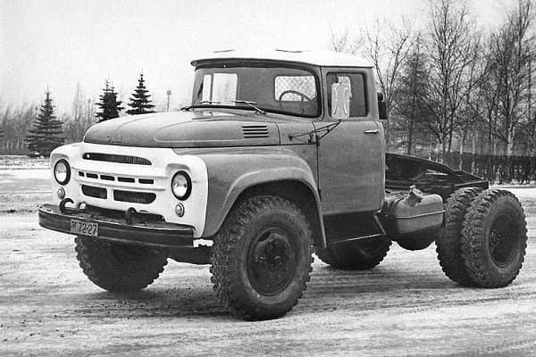 Сидельный ЗИЛ-130