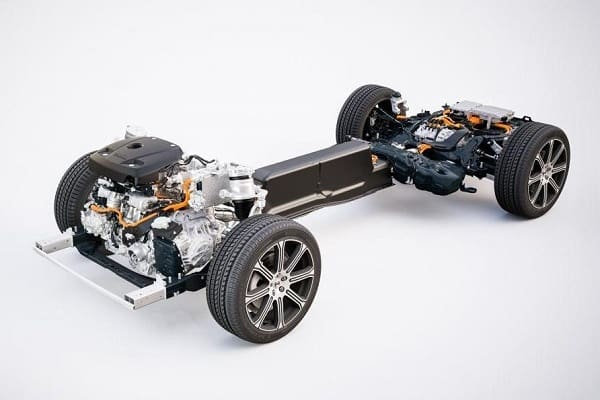 Трансмиссия Volvo XC60 T8 Twin-Engine