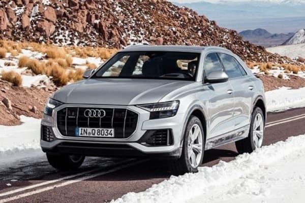 Audi Q8 с дизельным двигателем