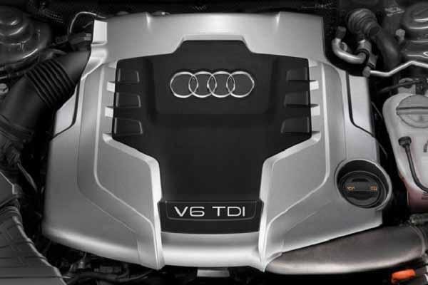 Дизельный двигатель Audi Q8