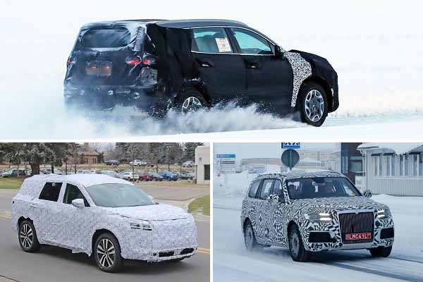 Кроссоверы 2021 года: Hyundai Santa Fe, Nissan Pathfinder, Aurus Commandant