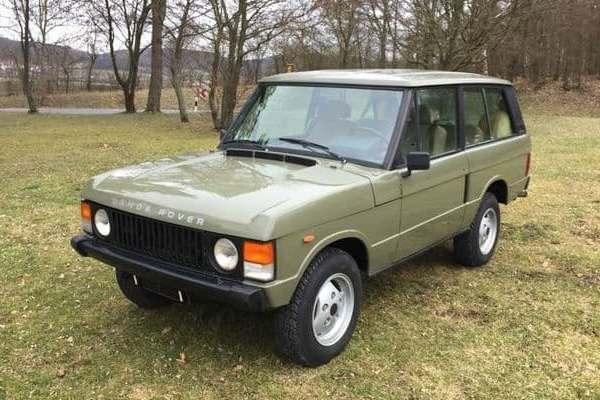 Land Rover Range Rover Classic 1984 года