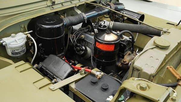 Двигатель Ford GPW 1943