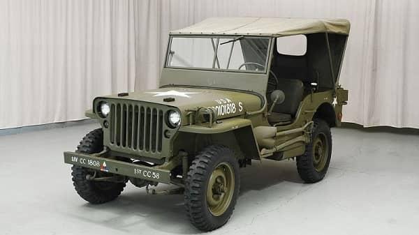 Джип Ford GPW 1943