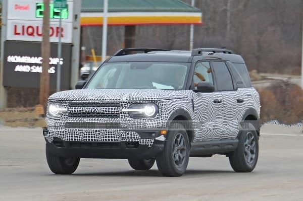 Ford Bronco 2020 года