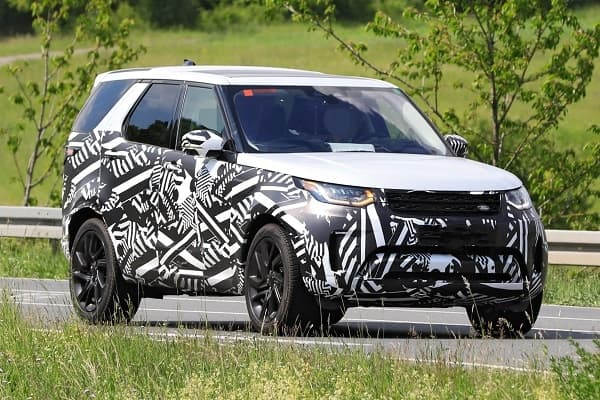 Land Rover Discovery 2020 года