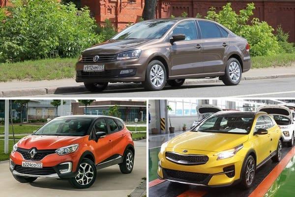 Новинки автомобилей российской сборки