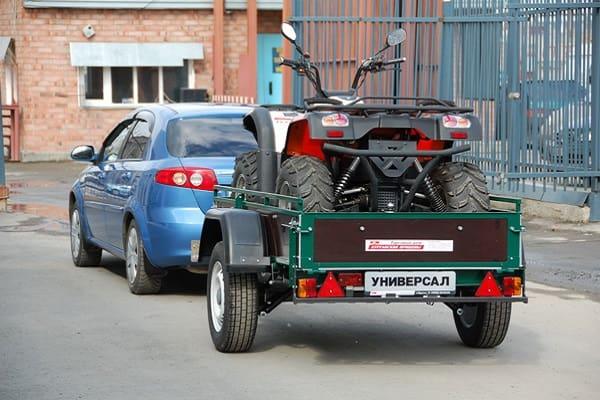 Перевозка квадрацикла