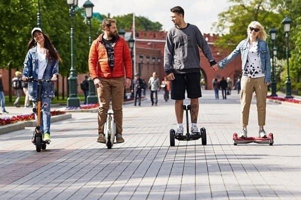 электрические средства индивидуальной мобильности