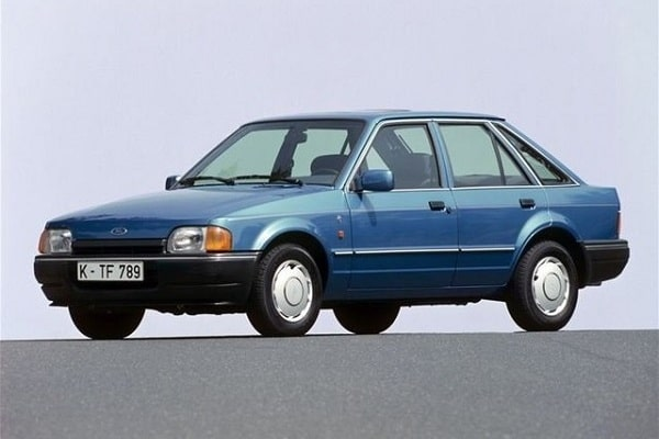 Ford Escort 3 поколения