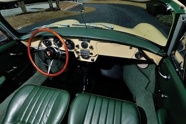 Салон Porsche 356 SC 1964 года