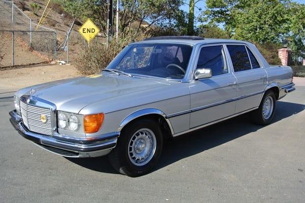 Ретро обзор Mercedes-Benz W116 1979 года